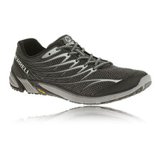 Merrell Bare Access 4 Mens Black Running Road Sports Shoes Trainers Pumps