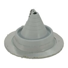 """Retro/Zipper Metal Roofing Pipe Boot Flashing, 3/4"""" to 7-1/4"""" Pipes, Color Gray"""