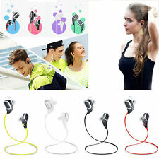 Wireless Bluetooth SPORT Stereo Headphone Headset Earphone for iPhone Samsung XG
