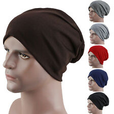 Women's Men's Winter Slouch Crochet Knit Hip-Hop Beanie Ski Hat Cap Rakish