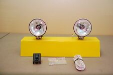 """3.5"""" Round Driving Spot Lights Vintage Pair Clear"""