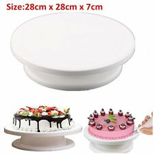 Cake Decorating Stand Turntable Rotating Revolving Icing Kitchen Display Platfor
