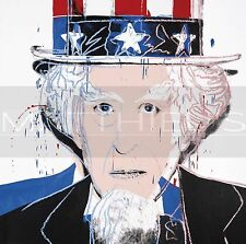 Andy Warhol-Uncle Sam, Canvas/Paper Print, Pop Art