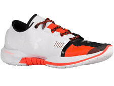 NEW MENS UNDER ARMOUR SPEEDFORM AMP TRAINER RUNNING SHOES TRAINERS WHITE / BOLT