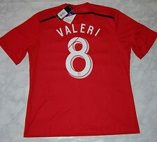 Adidas *Valeri* MLS Portland Timbers Away Soccer Jersey, M38560, Red, US Size XL