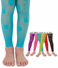 JEFFERIES Dotty Footless Ankle Tights Sheer Polka Dot Fun!!! Sizes 2 to 10 Years