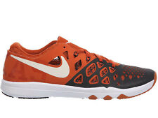 NEW MENS NIKE TRAIN SPEED 4 CROSS TRAINING SHOES TRAINERS DESERT ORANGE / WHITE