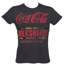 Official Men's Navy Coca-Cola Milkshakes T-Shirt