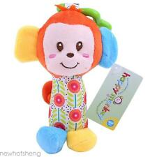 Lovely Animal Bed Bells Rattle Developmental Soft Toy for Baby