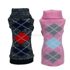 Pet Dog Puppy Warmer Sweater Clothes Knitted Coat Winter Apparel Costumes XS-XXL