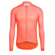 Rapha Cycling Long Sleeve Pro Team Aero Jersey Coral Size Large BNWT