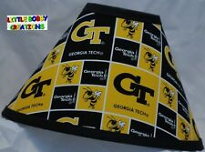 GEORGIA TECH LAMP SHADE (Made by LBC) SHIPS WITHIN 24 TO 48 HOURS!