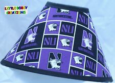 NORTHWESTERN UNIVERSITY LAMP SHADE (Made by LBC) SHIPS WITHIN 24 TO 48 HOURS!