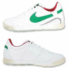 NIKE 10R PELADA MEXICO RONALDINHO INDOOR SOCCER SHOES White/Green.