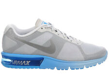 NEW WOMENS NIKE AIR MAX SEQUENT RUNNING SHOES TRAINERS PURE PLATINUM / METALLIC