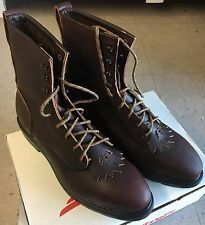 """Men's 4451 8"""" Red Wing USA Steel Toe Work Boots  Various Sizes Widths"""