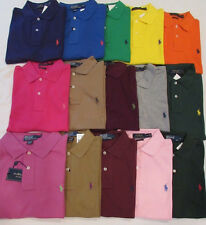 NEW MEN'S POLO RALPH LAUREN CLASSIC FIT S/S POLO GOLF SHIRT, PICK SIZE AND COLOR