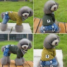 Pet Coat Dog Jacket Jumpsuit Winter Hoodie Clothes Puppy Cat Dog Sweater Apparel