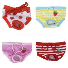Pet Dog Female Physiological Sanitary Pants Diaper Shorts Underwear Size S-XL