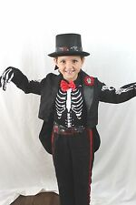 Day of the Dead Dia De Los Muertos Halloween Costume Zombie Sugar Skull NEW