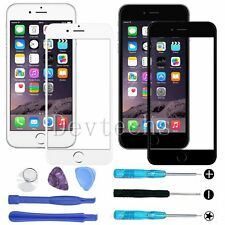 Front Outer Screen Glass Lens Replacement for Apple iPhone 6S 6+Repair Tools Kit