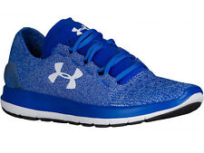 NEW MENS UNDER ARMOUR SLINGRIDE RUNNING SHOES TRAINERS ULTRA BLUE / WHITE