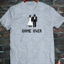 Game Over Marriage Funny Meme Humor Mens Gray T-Shirt