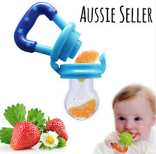 1 food-grade silicone nipple food feeder teething bpa free baby safe fruit dummy