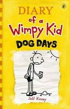 Diary of a Wimpy Kid Dog Days (Book 4) New Paperback Jeff Kinney RRP £6.99