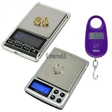 LCD 2000g/0.1g Digital Weigh Jewelry  Scale 25kg/5g  Electronic Digital Scale LM