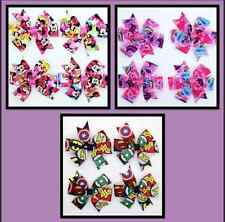 NEW Girls Hair Clip Bow - Minnie Mouse/My Little Pony/DC Comics - Perfect Gift
