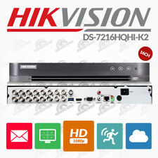 Hikvision 16 Channel HDTVI Turbo Dvr 1080p True HD CCTV DS-7216HQHI-F2 Recorder