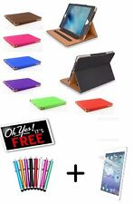 Genuine TAN Stand Smart Magnetic Leather Case Cover For Apple Models