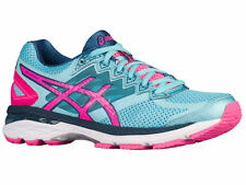 NEW WOMENS ASICS GT-2000 V4 GEL RUNNING SHOES TRAINERS TURQUOISE / HOT PINK / NA
