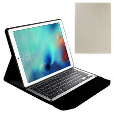 Slim Leather Case with Built-in Bluetooth Keyboard for iPad Pro 12.9 inch