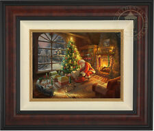 Thomas Kinkade Lionel Santa's Special Delivery 12 x 16 LE S/N Canvas Framed