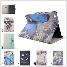 1X For iPad Samsung Tab Kindle Wallet Leather Folio Smart Hard Case Cover Stand