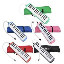 32 Piano Keys Melodica Education Instrument Gift with Carrying Bag C6W9