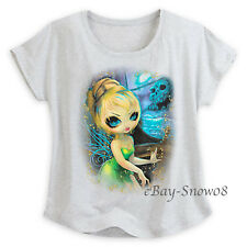 Tinker Bell at Skull Rock Tee Jasmine Becket-Griffith for Women Size Disney NWT