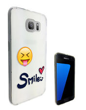 C1466 Emoji Smiley Faces Case Cover For Samsung Galaxy J3 J5 A3 A5 S6 S7 Edge