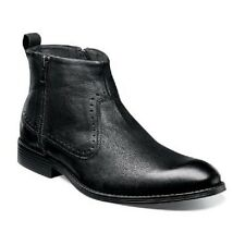 Stacy Adams Remington casual ankle boot Black Soft distressed Leather 25063-001