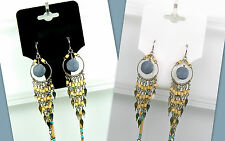 500 Piece Lots BLACK or WHITE Jewelry Display Hang Tags Necklace & Earring Combo