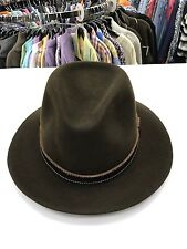 NEW Men's Bailey of Hollywood Kinnon Fedora 100% Wool Premium Hat Olive 37174BH