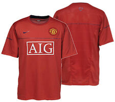 NIKE MANCHESTER UNITED TRAINING JERSEY Red/Blue.
