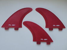 Al Merrick template AM1 PERFORMANCE CORE surfboard FINS (set x 3) FCS compatible