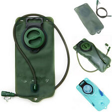 Hydration Pack Water Bladder Bag Reservoir Pouch Fits Camping Hiking Army / Blue