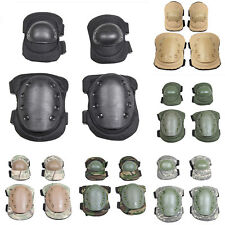 4PCS MILITARY SPORTS TACTICAL ELBOW PADS KNEE PADS PROTECTOR GEAR SKIING SKATING