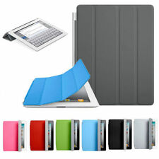 New Smart Magnetic Sleep/Wake Up PU Leather Smart Hard Case Cover For iPad 2 3 4