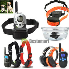 Dog Training Static Shock / Vibration Collar w/LCD Remote For S/M/L 1-2 Pet Dog