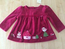 NWT GYMBOREE Cozy Owl OWL Velour Shirt SZ 12-18Months toddler girls